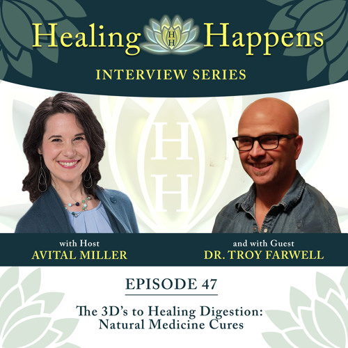 047: The 3D's to Healing Digestion: Natural Medicine Cures