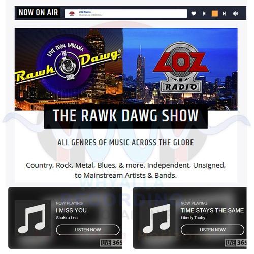 WRS LIBERTY TUOHY & SHAKIRA LEA - RAWK DAWG RADIO - 210319