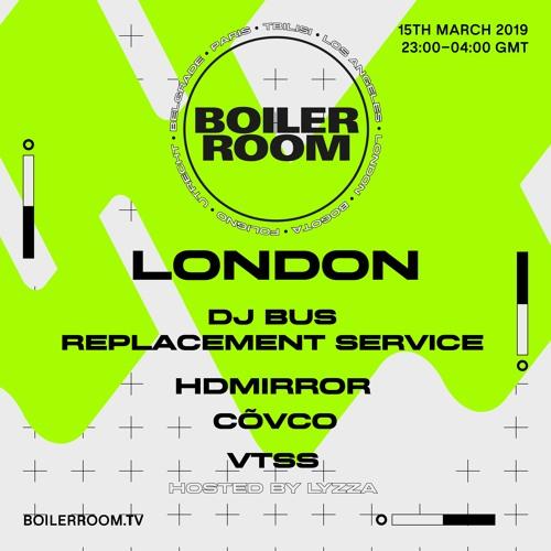 VTSS | Boiler Room London: Warehouse Party