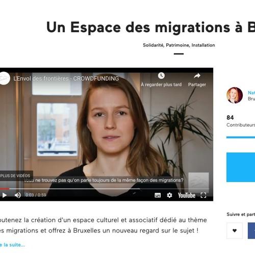 Crowdfunding - Un espace des migrations