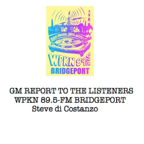 GM Report to the Listeners  |  March 2019