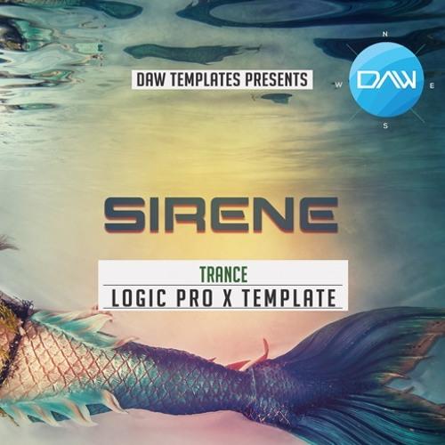 Sirene Logic Pro X Template Trance