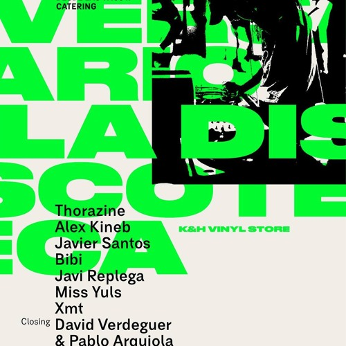 La Discoteca K & H vinyl store. 2º ANIVERSARIO mixed by Pablo Arquiola & David Verdeguer