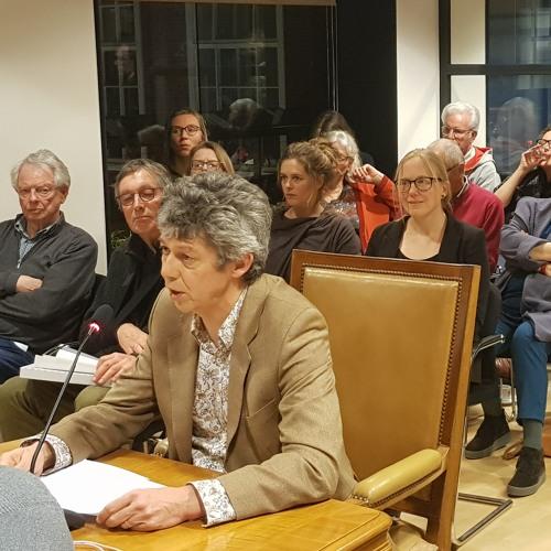 2019 - 03 - 21 Bestuurslid Bert Stemerdink Van De Vrienden Van Het Roomburgpark