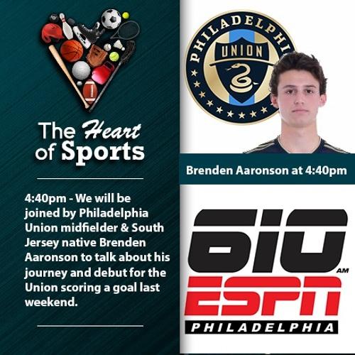 Heart of Sports Jason Springer & Jeff Cohen: CBB Analyst Terry Mills & Union Brenden Aaronson