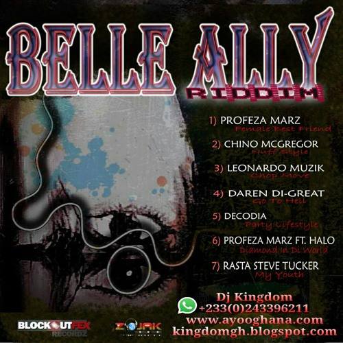 Dj Kingdom - Belly Ally Riddim Mix ft Various Artists || ayooghana.com