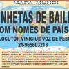 VINHETAS DE BAILES COM NOMES DE PAÍSES