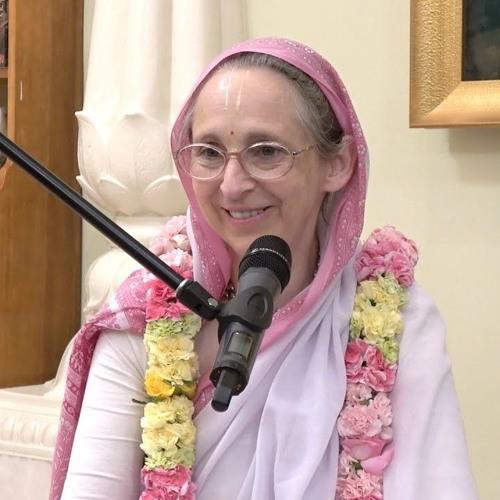 Gaura Purnima evening class on Thu 21st Mar 2019 by HG Urmila Devi Dāsi