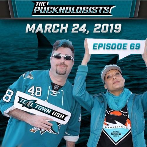 The Pucknologists - EP 69 - Martin Jones, Fanatics Nightmares, and Playoff Predictions