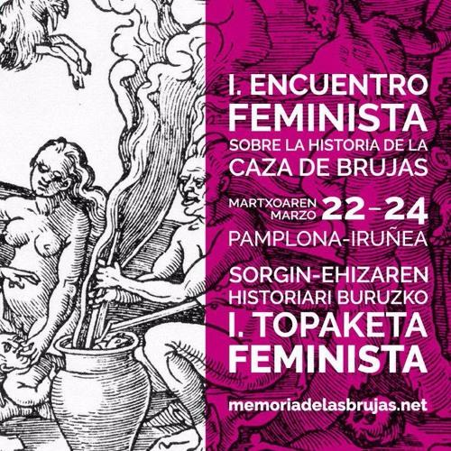SORGIN-EHIZARI BURUZKO I. TOPAKETA | I. ENCUENTRO SOBRE LA HISTORIA DE LA CAZA DE BRUJAS
