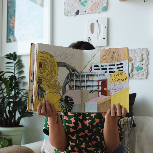 Daftar Asfar @ Art Dubai 2019: How three travelling sketchbooks came to life in the Middle East