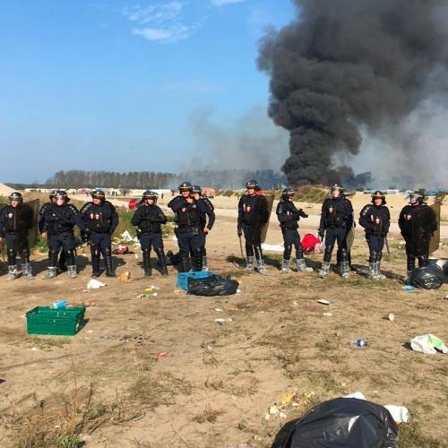 "Lande: The contemporary archaeology of the Calais ""Jungle"""