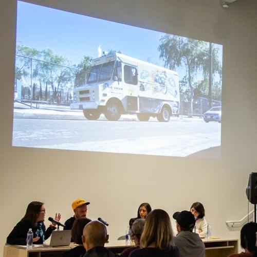 Whistles, Borders, and Ice Cream Trucks: an artist talk with Brognon-Rollin