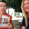 Laos Episode 3 - Meet The Novice Monks Of Savannathek: Conversation On Buddhist Teachings Pt 3 Of 3
