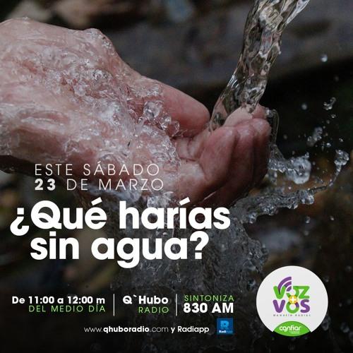 ¿Qué harías sin agua?