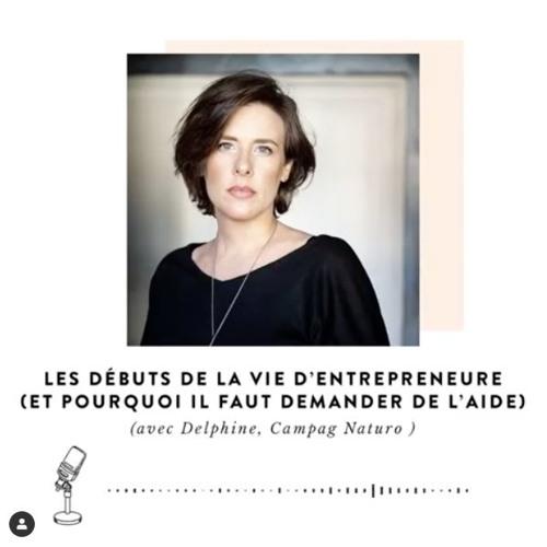 Être Soi #75 : Les débuts de la vie d'entrepreneure, avec Delphine (CAMPAG NATURO)