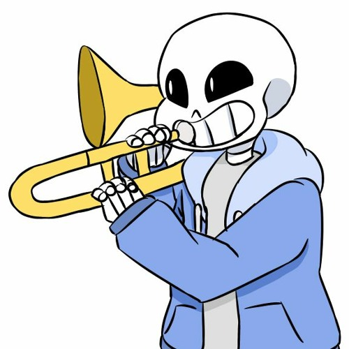 sans waiting in the judgement hall like by LiterallyNoOne