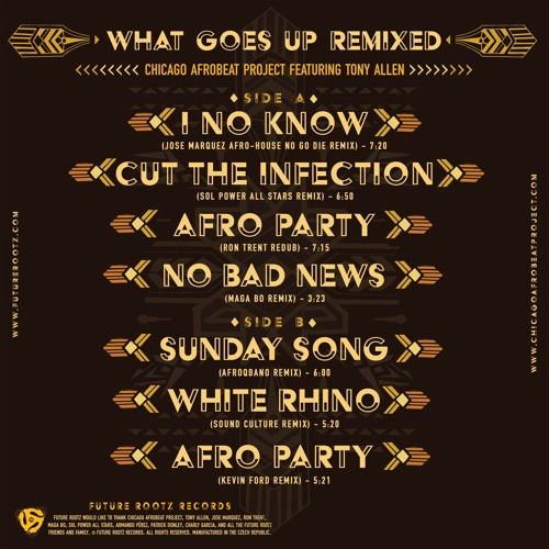 What Goes Up Remixed