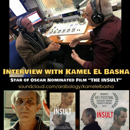 "Interview with Kamel El Basha, Star of Oscar Nominated Film ""The Insult قضية رقم ٢٣"""