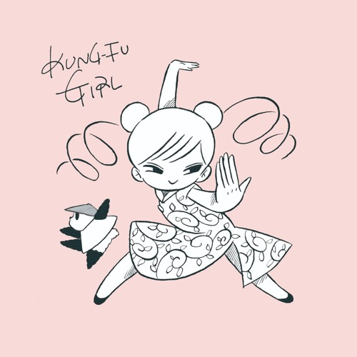 TCRD-004 : KUNG-FU GIRL  - Anorak