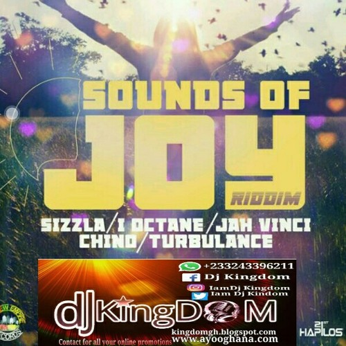 Dj Kingdom - Sounds of joy riddim mix(New Empire records productions)