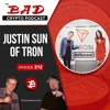 Justin Sun with TRON