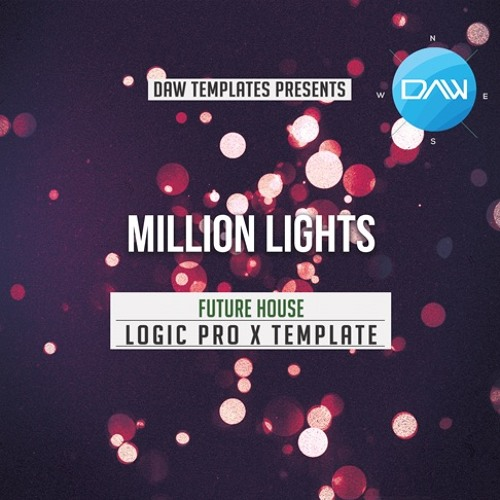 Million Lights Logic Pro X Template Future House