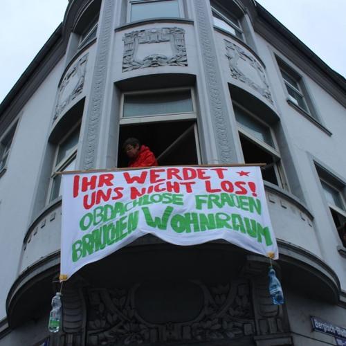 Unterstützung für ältere wohnungslose Frauen in Köln