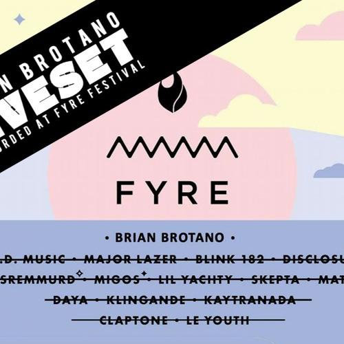 April Fools Mix 2019***) Evian Presents: Brian Brotano Live