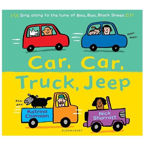 Car Car Truck Jeep - book