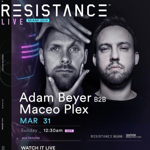Adam Beyer b2b Maceo Plex - Live @ Ultra Miami 2019