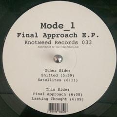 KW033 - Mode_1 - Final Approach E.P.