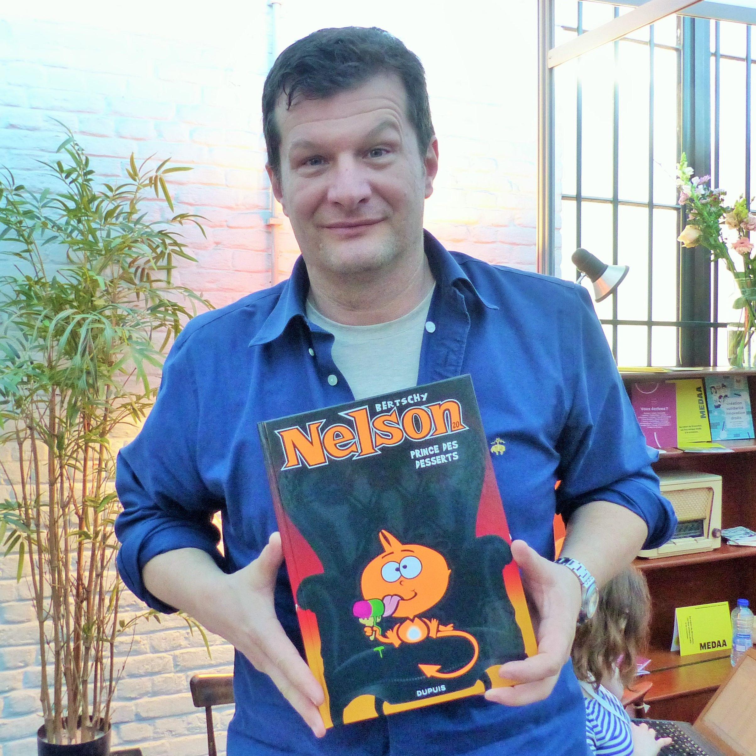 Christophe Bertschy,le dessinateur Suisse créateur de Nelson