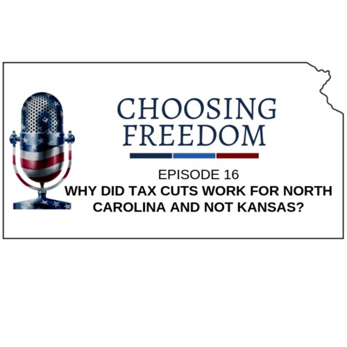 Why did tax cuts work for North Carolina and not Kansas?
