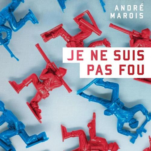 André Marois parle de son roman Je ne suis pas fou