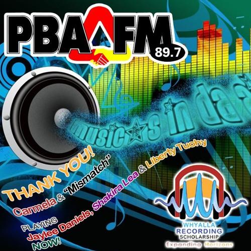 "Whyalla Recording Scholarship on Carmela's ""MISMATCH"" on PBA FM"
