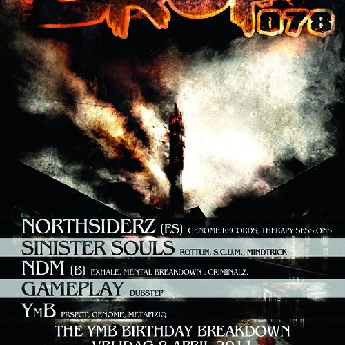 Gameplay @ Drop! 078 - The YMB Birthday Breakdown - 08-04-2011 / Dolhuis - Dordrecht