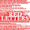 3 - 31 - 19 Red Letters (Steve Higgs, Preacher)