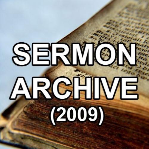 Sermons 2009