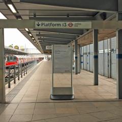 Platform 13 is closed