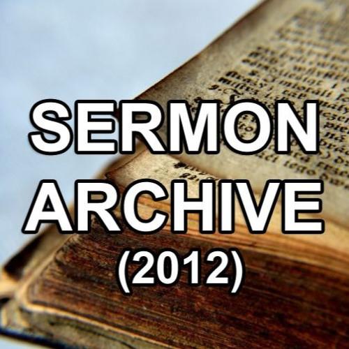 Sermons 2012