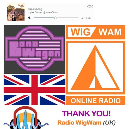 JAYLEE DANIELS ON RADIO WIGWAM UK 040419