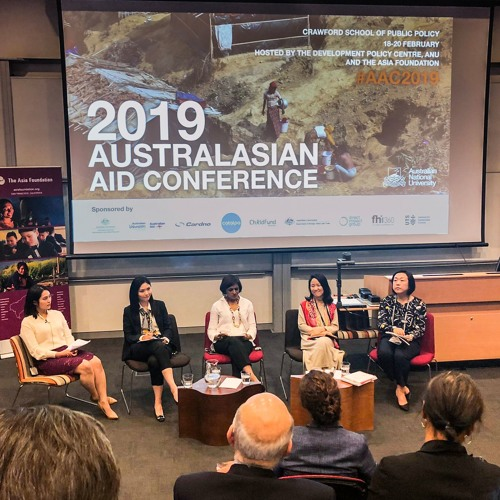 2019 Australasian Aid Conference - Keynote panel: China's development cooperation in focus