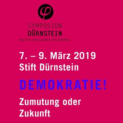 Isolde Charim beim Symposion Dürnstein 09 März 2019