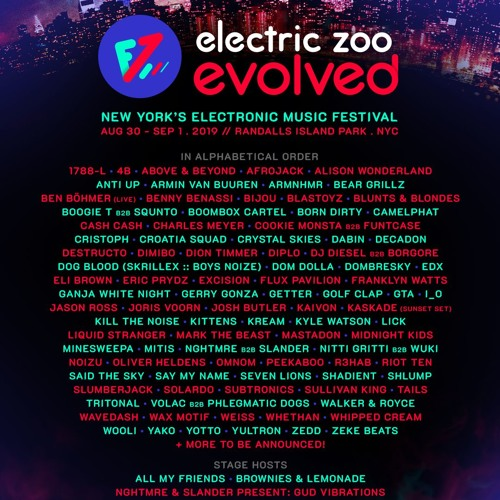 All My Friends Radio Show #45 Electric Zoo Evolved
