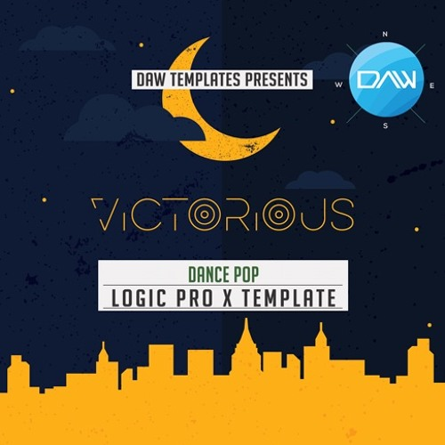 Victorious Logic Pro X Template