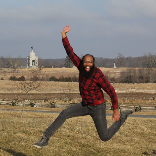 Composer Anthony R. Green in Gettysburg