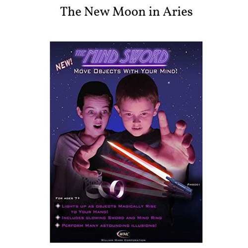 The New Moon In Aries!