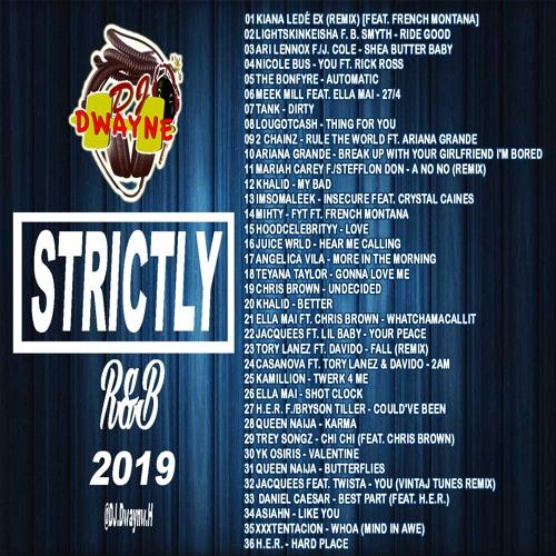 Strictly R&B MIX 2019
