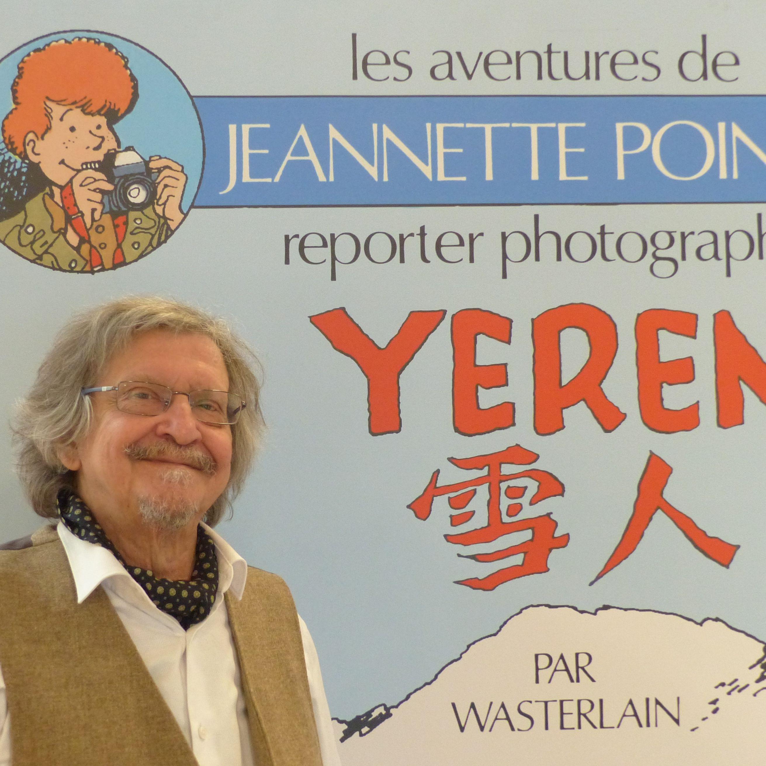 Marc Wasterlain , Le dessinateur raconteur d'histoires